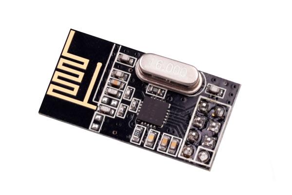 2.4G通信nrf24l01数传模块 插针款